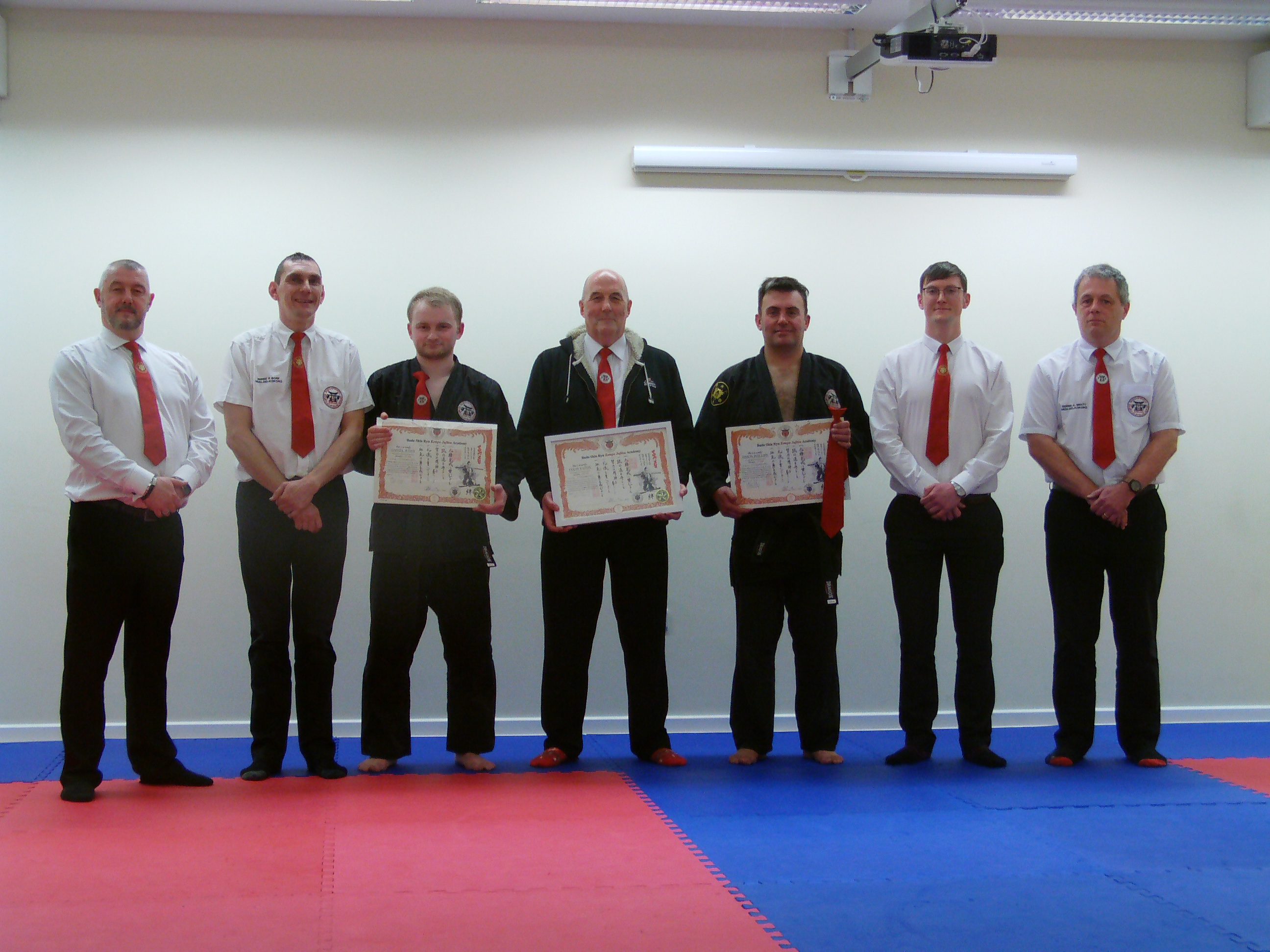 Instructors at the Academy